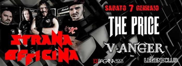 Strana Officina - The Price - V-Anger - Legend Club - 2017 - Promo