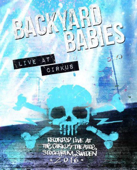 Backyard Babies - Live At Cirkus - DVD Cover
