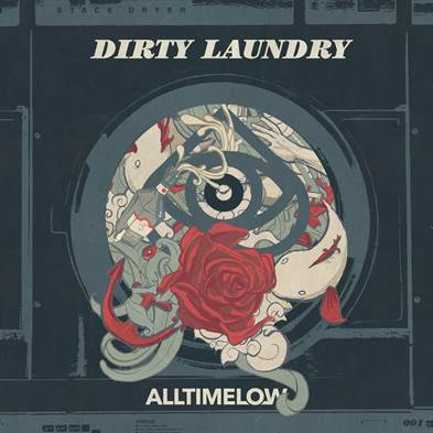 All Time Low - Dirty Laundry - Single Cover