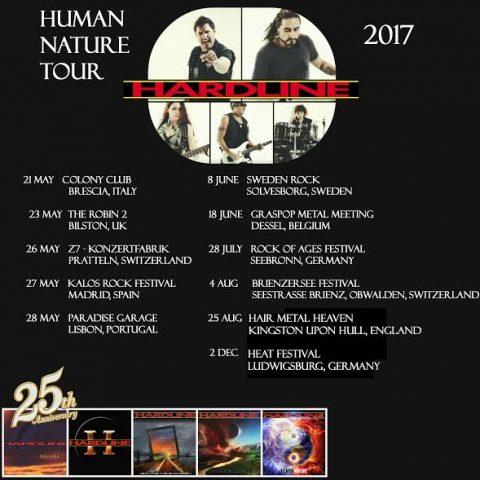 Hardline - Human Nature - Tour 2017 - Promo