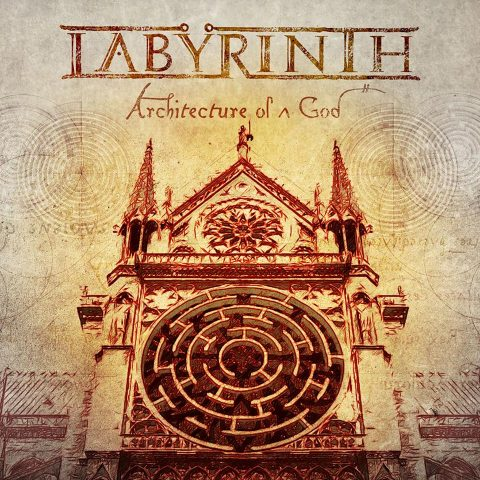 Labyrinth - Architecture Of A God - Album Cover