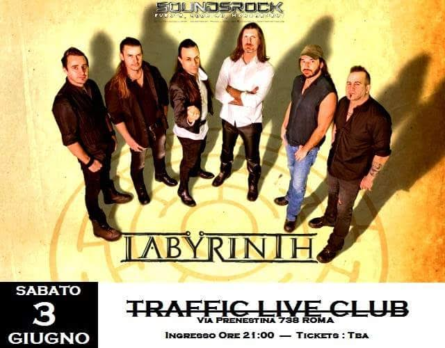 Labyrinth - Traffic Live Club - Tour 2017 - Promo
