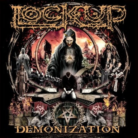 Lock Up - Demonization - Album Cover