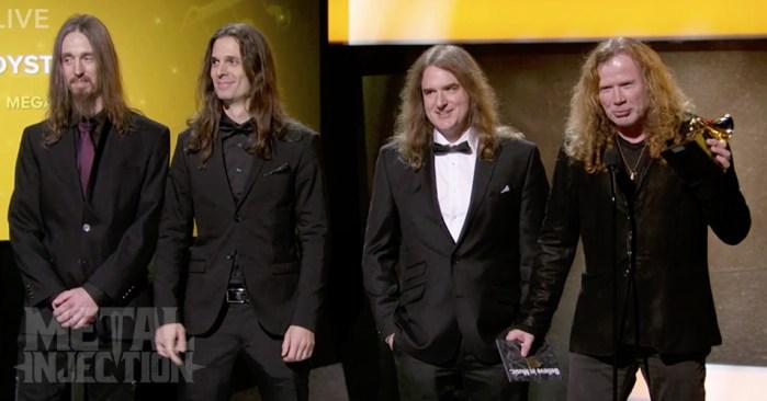 Megadeth - Grammys 2017