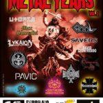 Metal Years Vol II - Messerschmitt - Graal - Fenisia - Jailbreak Live Club 2017 - Promo