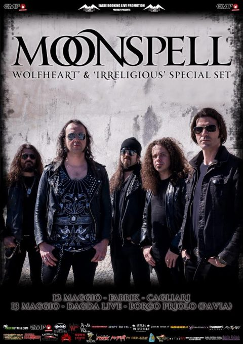 Moonspell - Wolfheart' s & Irreligious Special Set - Tour 2017 - Promo