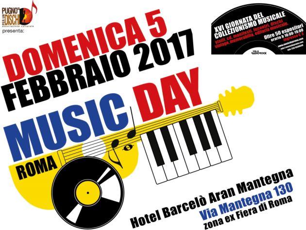 Music Day Roma - Hotel Barcelò Aran Mantegna 2017 - Promo
