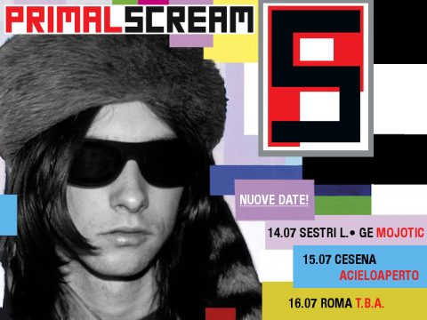 Primal Scream - Tour 2017 - Promo
