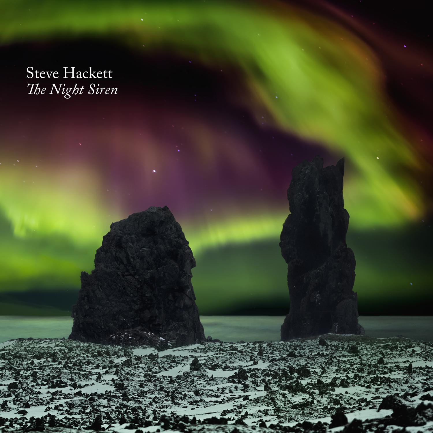 Steve Hackett - The Night Siren - Album Cover