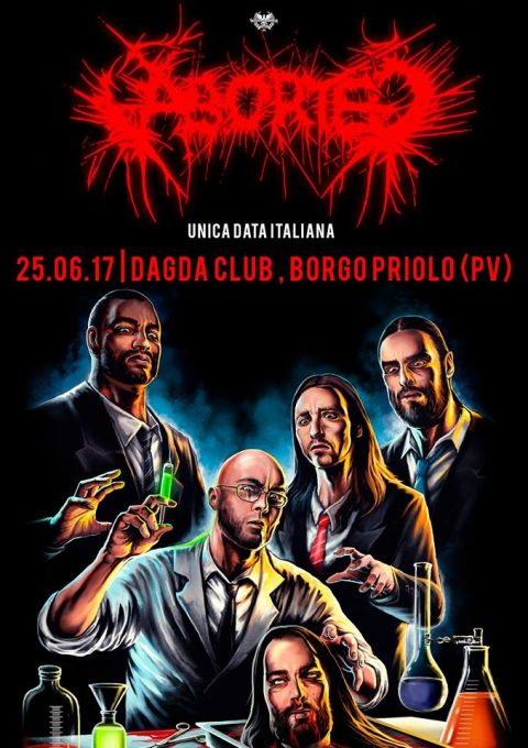 Aborted - Dagda Club - Tour 2017 - Promo