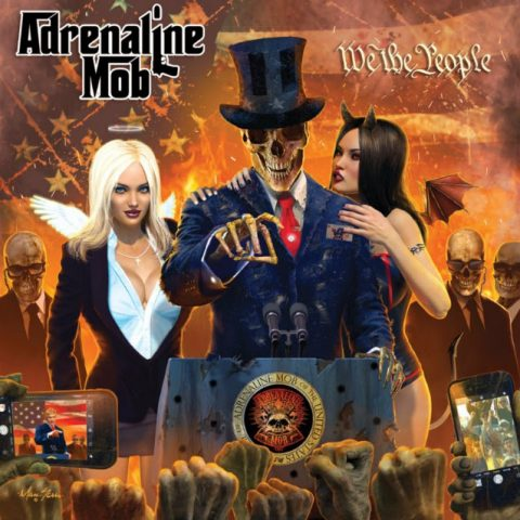 Adrenaline Mob - We The People - Album Cover