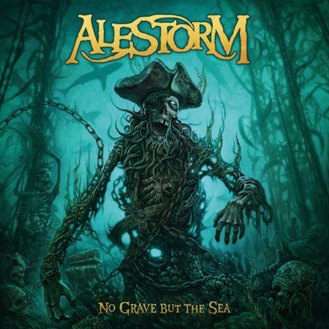 Alestorm - No Grave But The Sea - Album Cover