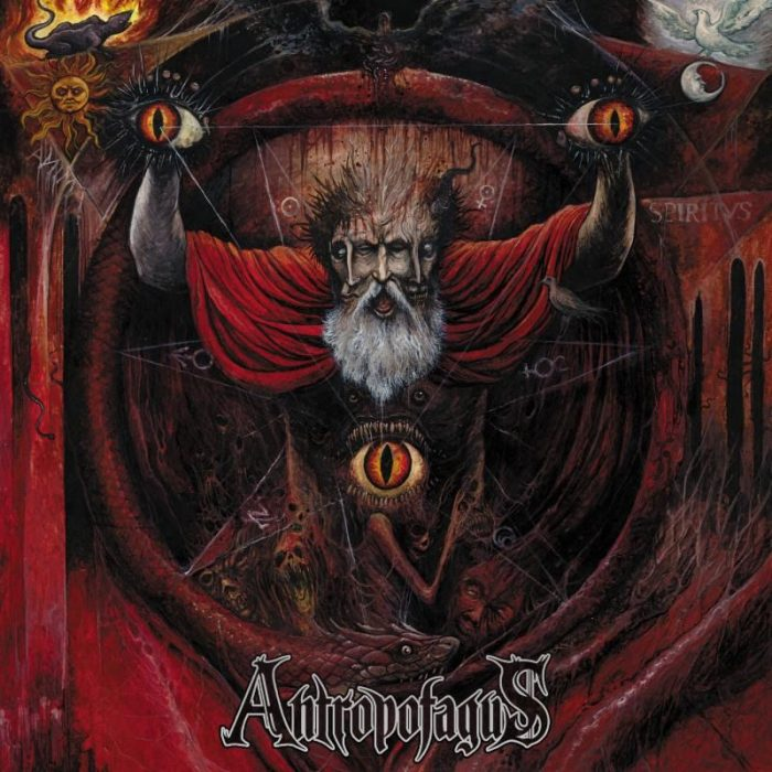 Antropofagus - Methods Of Resurrection Through Evisceration - Album Cover