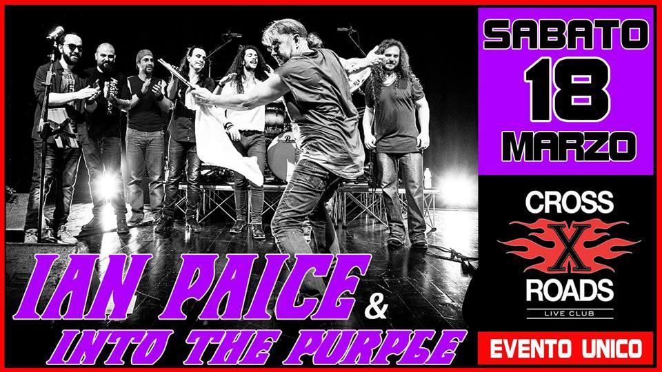 Ian Paice - Into The Purple - Crossroads Live Club 2017 - Promo