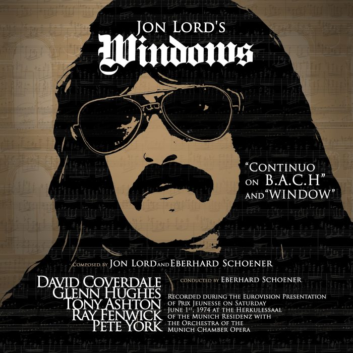 Jon Lord - Windows - Album Cover
