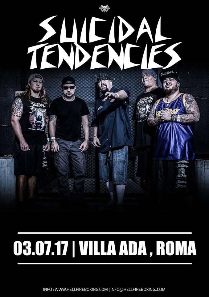 Suicidal Tendencies - Villa Ada - Tour 2017 - Promo