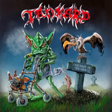 Tankard - One Foot In The Grave - Album Cover