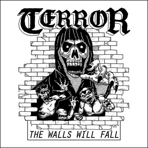 Terror - The Walls Will Fall - EP Cover