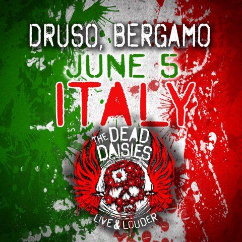 The Dead Daisies - Druso - Live & Louder - Tour 2017 - Promo