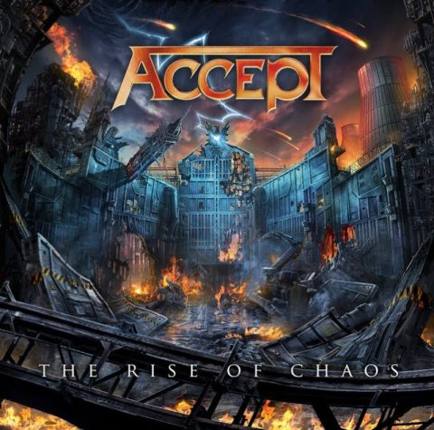 Accept - The Rise Of Chaos - Album Cover