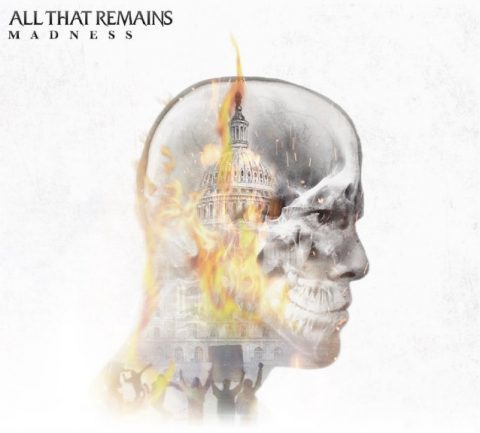 All That Remains - Madness - Album Cover