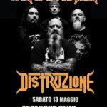 Crowbar - Distruzione - Freakout Club - Tour 2017 - Promo