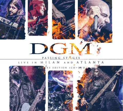 DGM - Passing Stages Live In Milan And Atlanta - Album Cover