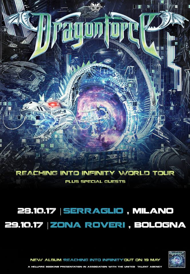 Dragonforce - Reaching Into Infinity World Tour 2017 - Promo