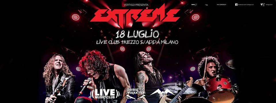 Extreme - Live Club - Tour 2017 - Promo