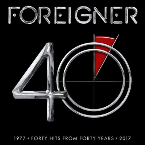 Foreifner - 40 - 1977 Forty Hits From Forty Years 2017 - Album Cover