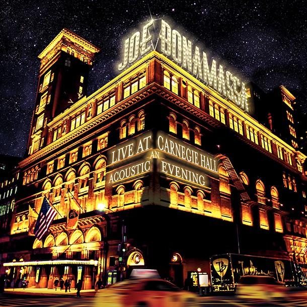 Joe Bonamassa - Live At Carregie Hall An Acoustic Evening - Album Cover