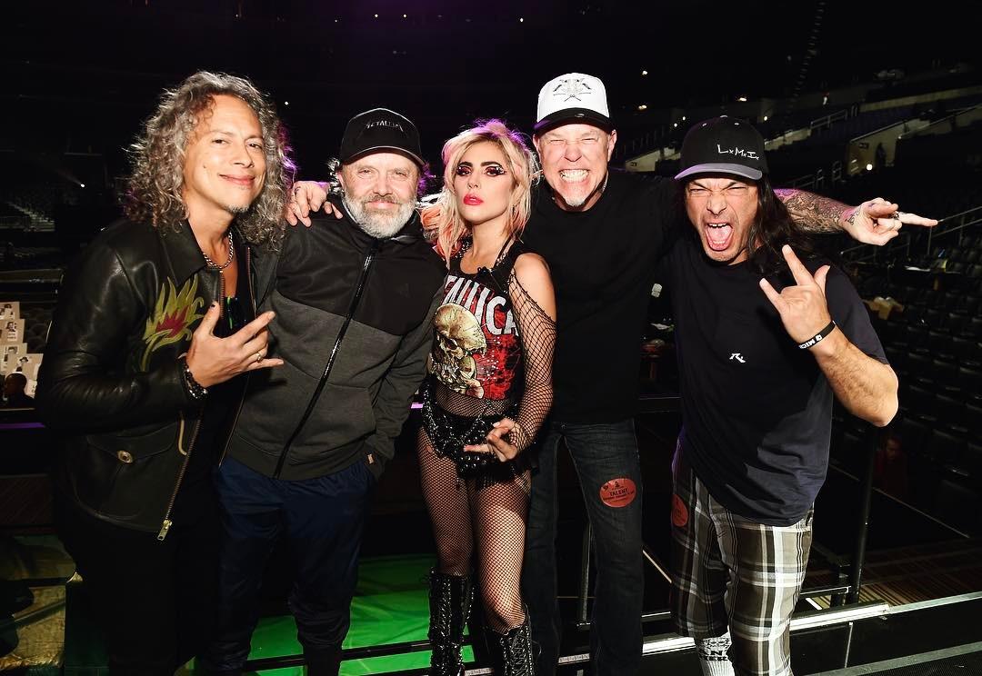 Metallica - Lady Gaga