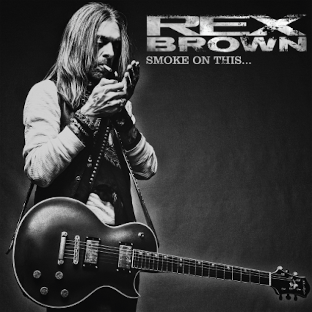 Rex Brown - Smoke On This - Album Cover