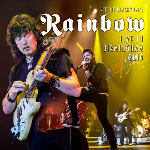 Ritchie Blackmore's Rainbow - Live In Birmingham 2016 - Album Cover