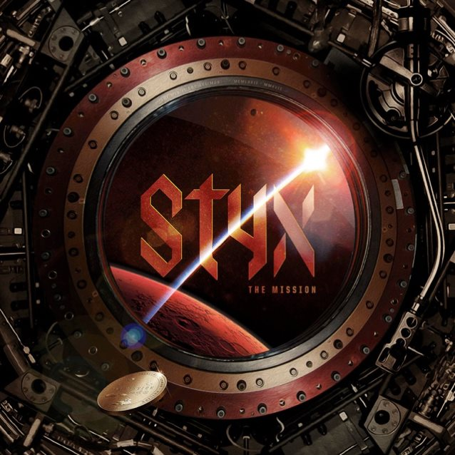 Styx - The Mission - Album Cover
