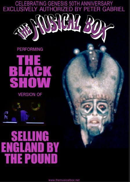 The Musical Box - The Black Show - Tour 2017 - Promo