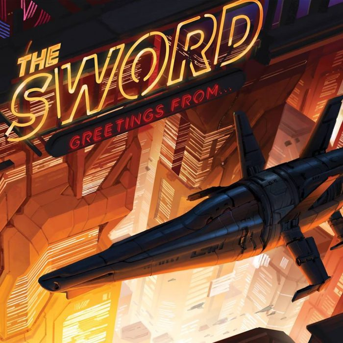 The Sword - Greetings From - Album Cover
