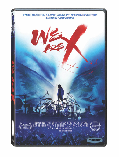 X Japan - We Are X - DVD Cover