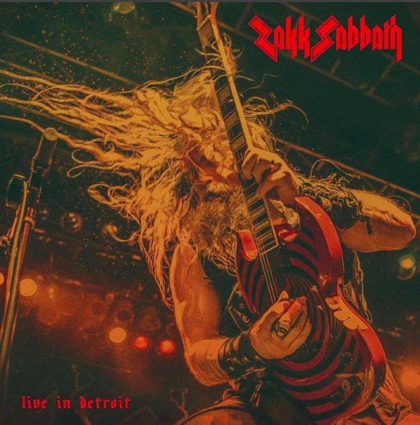 Zakk Sabbath - Live In Dtroit - EP Cover