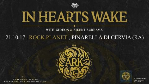 In Hearts Wake - Gideon - Silent Screams - Rock Planet Club - Tour 2017 - Promo