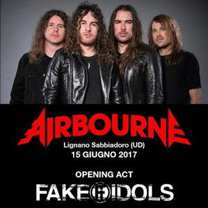Airbourne - Udine @ Arena Alpe Adria | Lignano Sabbiadoro | Friuli-Venezia Giulia | Italia