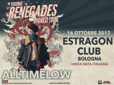 All Time Low - Estragon Club - The Young Renegades World Tour 2017 - Promo