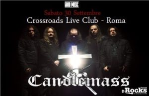 Candlemass + guests - Roma @ Crossroads Live Club | Lazio | Italia