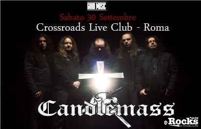 Candlemass - Crossroads Live Club - Tour 2017 - Promo