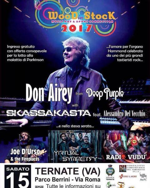 Don Airey - Skassakasta - Wood In Stock - Tour 2017 - Promo