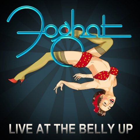Foghat - Live At Belly Up - Album Cover