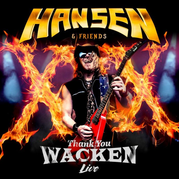 Kai Hansen & Friends - Thank Ypu Wacken - Album Cover