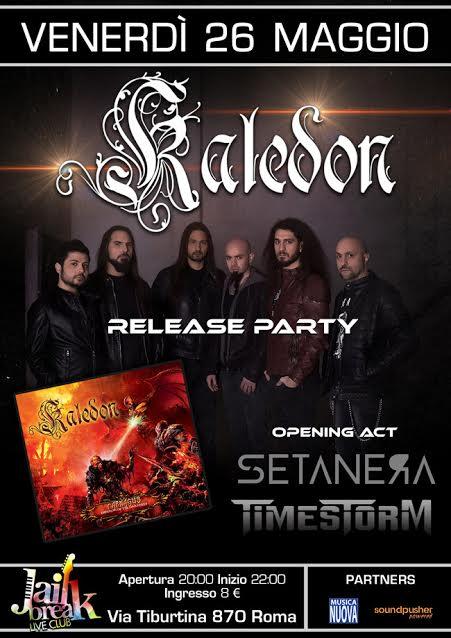 Kaledon - Setanera - Timestorm - Jailbreak - Release Party 2017 - Promo