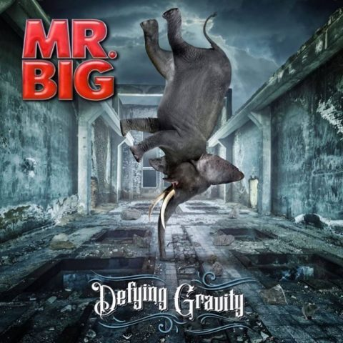 Mr. Big - Defying Gravity - Album Cover