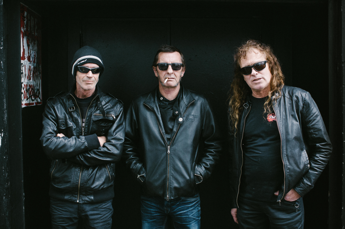 Phil Rudd - Geoffrey Martin - Allan Badger